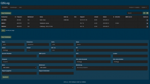 QSLog für den Amateurfunk BDie Entwicklung zu rowser / Desktop