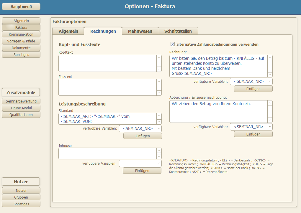 Faktura Ewu Software Gmbh